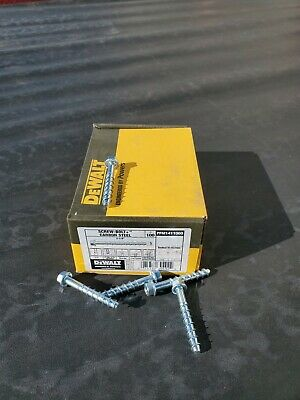 Stainless Steel 04120-PWR Concrete Anchor Screw PK100
