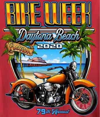 BIKETOBERFEST 2018 MAGNET DAYTONA BEACH MOTORCYCLE STURGIS WEEK 25TH HARLEY FLA