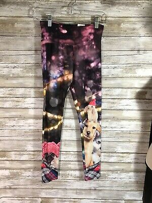 New Justice Leggings Girls 14 16 Winter Puppy Pug Dog Bunny Stretch Cute