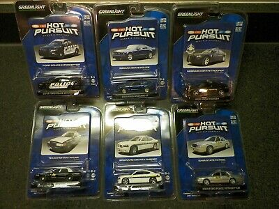 Greenlight 1:64 Hot Pursuit Series 7 Complete Set Of 6