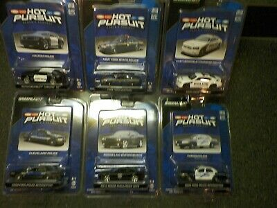 Greenlight 1:64 Hot Pursuit Series 8 Complete Set Of 6