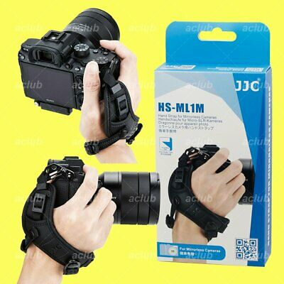 JJC Leather Hand Wrist Grip Strap for Mirrorless Camera Sony A7 A7R A7S A9 A6500