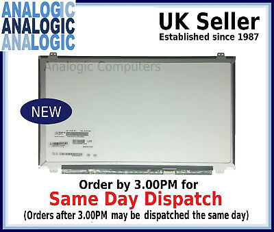 AJParts New 15.6 ASUS X555Y Laptop LED LCD HD Screen Slim Display Panel Backlit HD Without touch Replacement