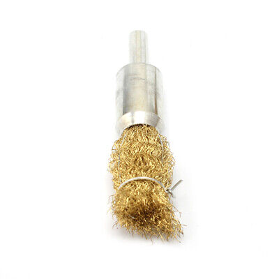 5Pcs 16mm Copper Wire Wheel Brush for Metal Rust Remover Polishing Rotary Tool