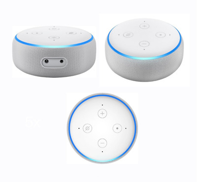 Amazon Echo Dot Smart Assistant With Alexa Voice 3rd Generation - Sandstone