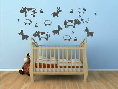 1.6 m Grass Vinyl Sticker Nursery kids Bedroom Playroom Wall Art stickers decals