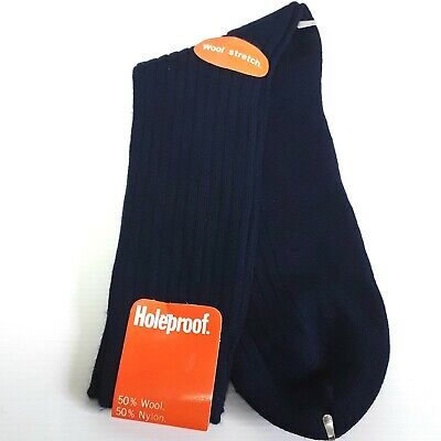 Holeproof socks Mens Wool Nylon blend Vintage