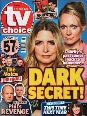 EMMERDALE - Selection of British TV Choice Magazines with Main Cast 2018