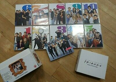 FRIENDS Complete Series Box Set 40 Discs Extended with Booklet FREE P&P