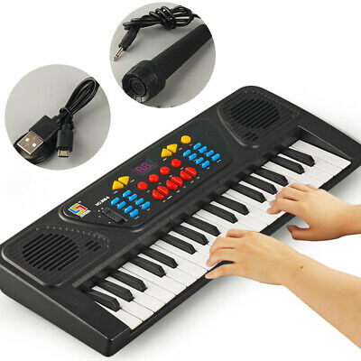 37 Keys Electric Piano Music Electronic Keyboard Beginners Organ Mini Microphone