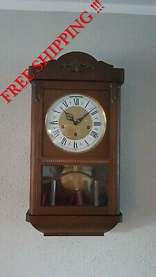 0295 - German Hermle  Westminster chime wall clock