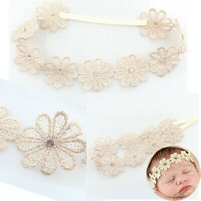 Garland Elastic Wedding Sunflower Hairband Rhinestone Baby Headband Bohemia