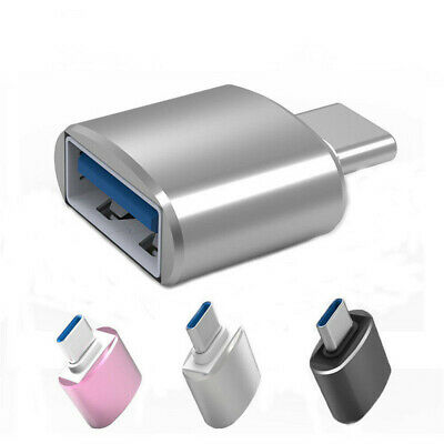 TypeC Metal Adapter USB-C TypeC to USB 3.0 Converter Phones OTG Cable For Phone