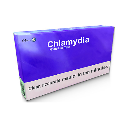 Chlamydia Home Test Kit For Men and Women Result in 10 mins, STD STI Test,