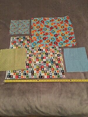 WINDHAM FABRICS KINDER BY HEATHER ROSS FROGS ON PALE BLUE 100/% COTTON 43484-9