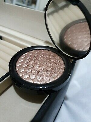 Marks And Spencer Autograph Pure Luxe Powder Highlighter Golden Rose Swatched...