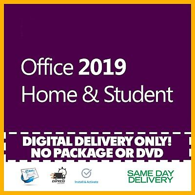 Office 2019 Home and Student Product Key 🔐 Activation License ⭐