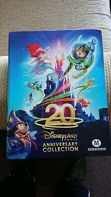 DISNEYLAND PARIS 20TH  ANNIVERSARY CARDS ...BASE// BASIC CHOOSE by MORRISONS