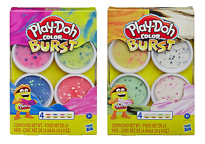 Play-Doh Colour Burst - Colours Swirl and Change PlayDoh New