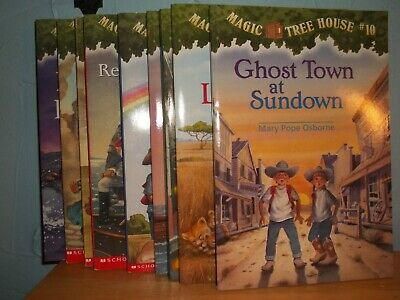 9 magic tree house books - paperbac