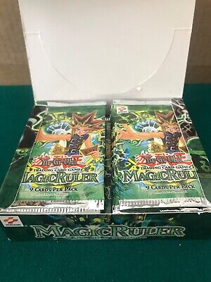 YuGiOh 1st Edition Magic Ruler Booster Pack 1996 - English 1x Pack