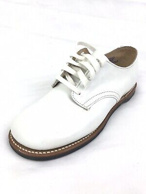 Vintage White Hard Bottom Toddler Shoes (Size: 11 1/2)