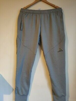 Genuine men's ADIDAS Tracksuit Bottoms Prime Sweat Pants Grey Size M, L