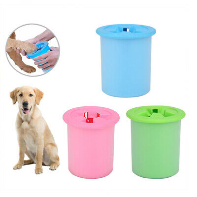 Silicone Dog Paw Cleaner Pets Cleaning Brush Cup Dog Foot Cleaner Feet Washers
