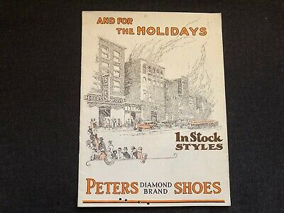 Vintage PETERS DIAMOND BRAND SHOES Catalog 1920's SANTA CLAUS