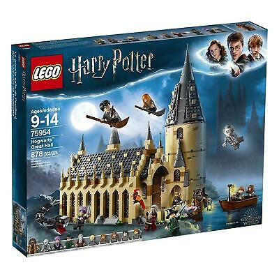 Lego Harry Potter 75954  Hogwarts Great Hall 878 PC 2018 Release