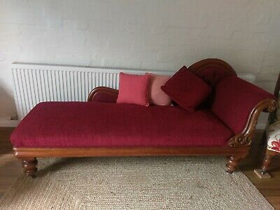 Beautiful Antique Victorian Chaise Longue