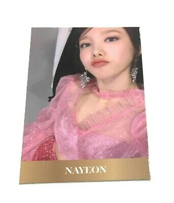 TWICE 8th Mini Album Nayeon Feel Special Official Photocard Nayeon KPOP B2