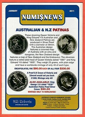 2011 Numisnews Booklets M R Roberts 8 Monthly Issues