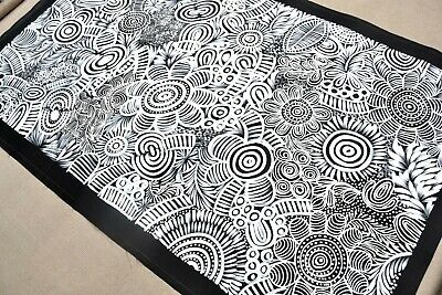 SELINA  NUMINA 165 x 100 cm Original Painting - Aussiepaintings Aboriginal Art