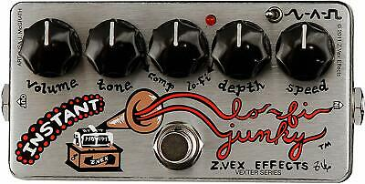 Zvex Effects Instant Lo Fi Junky Vexter Series Chorus Vibrato Guitar Pedal