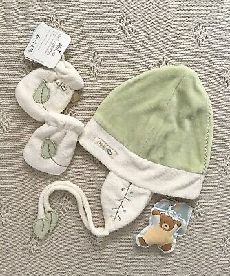 Kaloo Pure Hat And Mittens 6-12 Months. Never Worn.