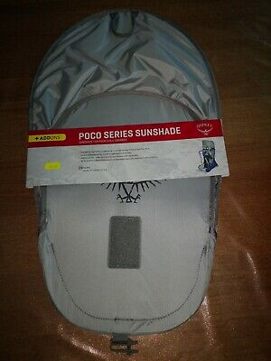 Osprey Poco baby backpack carrier Sun Shade BRAND NEW UNOPENED