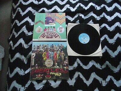 The Beatles Sgt  peppers lonely hearts club band Italian pressing