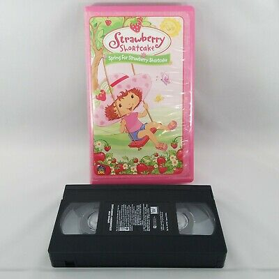 Spring For Strawberry Shortcake VHS Video Tape Movie Clamshell