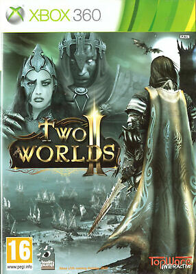 Two Worlds II 2 Microsoft Xbox 360 - Complete With Manual RPG Role Playing Game