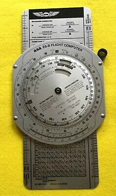 Asa E6-B Manual Flight Planning Computer (Aluminium) Inc Instruction Booklet