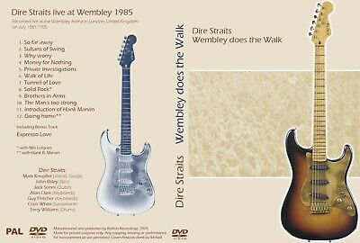 Dire Straits. 1985 Wembley Stadium. Pro - Shot. Dvd.