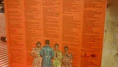 The Beatles - Sgt. Pepper's. UK 1967 1st *STEREO* Press LP 100% Complete EX+/M-