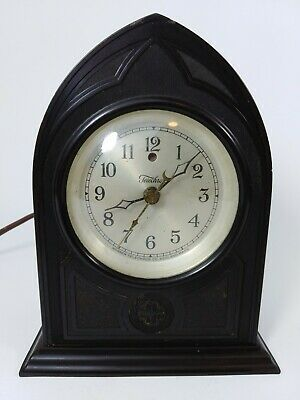 Antique TYPE B-2 Telechron Electric Mantel Clock Ashland Mass. Parts Clock