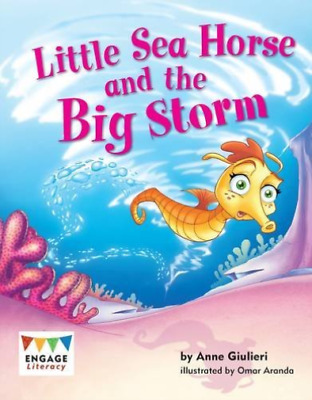 Giulieri  Anne-Little Sea Horse And The Big Storm BOOK NUOVO