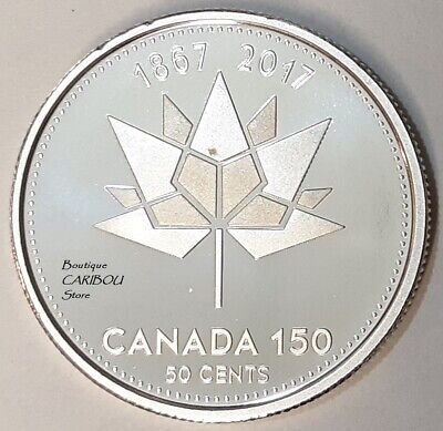 2017 Canada 150th Anniversary Silver Proof 50 Cents