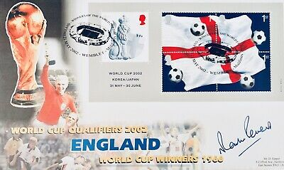 Martin Peters HAND SIGNED World Cup 1966 Winners First Day Cover FDC *In Person