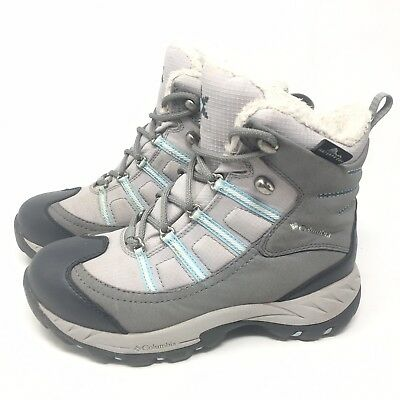 Columbia Whirlibird Womens Fur Waterproof Insulated Winter Snow Boots Size 6 M