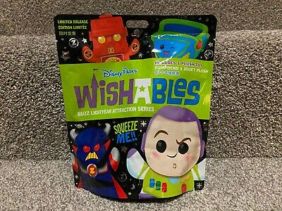 Disney Parks Wishables Mystery Plush - Buzz Lightyear Attraction Series