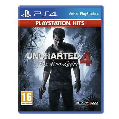 PS4 Uncharted 4: Fine di un ladro - PS Hits Videogame Sony Play Station 4 gioco